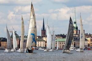 AF Inshore race start in Stockholm 2013 © Oskar Kihlborg 2013