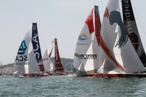 June 6, 2015. Lisbon In-Port Race