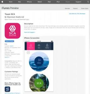 SCA-app